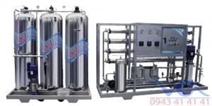 Hệ thống lọc nước tinh khiết RO đóng bình, đóng chai