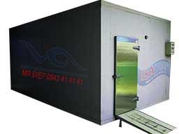 Kho lạnh bảo quản máy làm đá viên