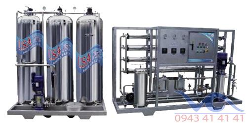 hệ thống lọc nước tinh khiết công suất 500l/h