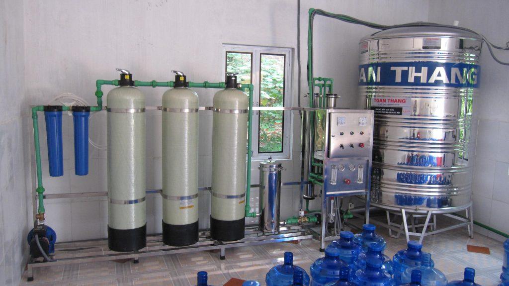 hệ thống lọc nước tinh khiết đầu nguồn 3